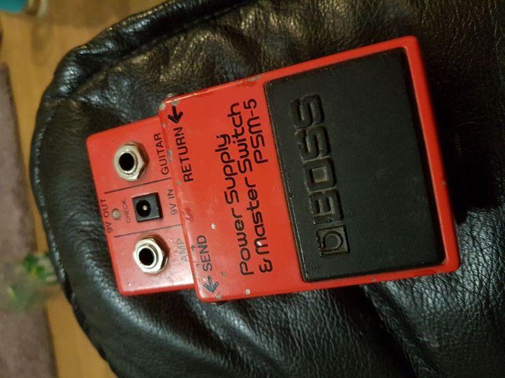 Japanese Guitar Effects : boss psm 5 power supply and master switch japanese guitar effects pedal guitar effects ~ Hamham.info Haus und Dekorationen