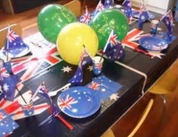 Australia Day Decor