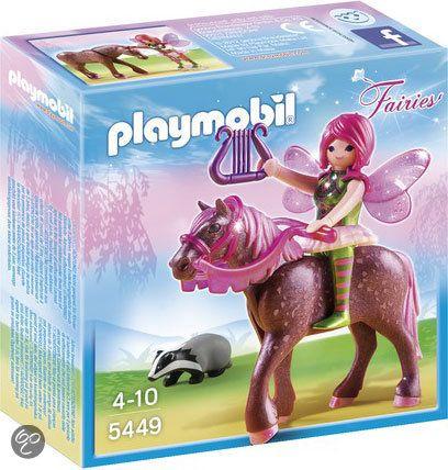 bol.com | Playmobil Fee Surya met Ruby-paard - 5449, Playmobil | Speelgoed