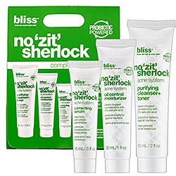 bliss no 'zit' sherlock: This stuff really works!Beautiful Aid, Complete Acne, Acne System, Acne Care, Bliss Spa, Sherlock Complete, Beautiful Industrial, Acne Skin, Beautiful Secret