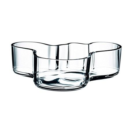 Alvar Aalto Collection Bowl 50 x 195 mm clear