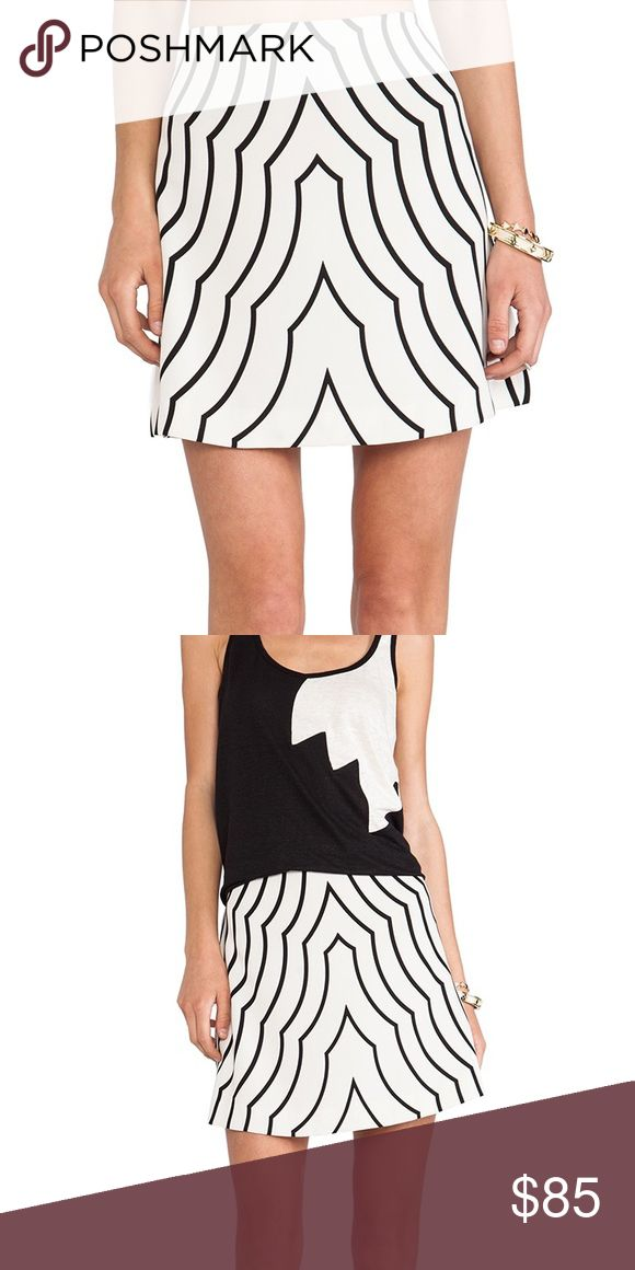 Marc by Marc Jacobs Radio Waves Skirt Marc by Marc Jacobs Radio Waves in Agave Nectar  skirt size 12 Marc by Marc Jacobs Skirts Mini