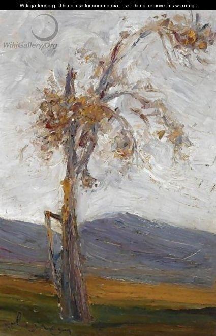 Tree In A Landscape - Nikolaos Lytras