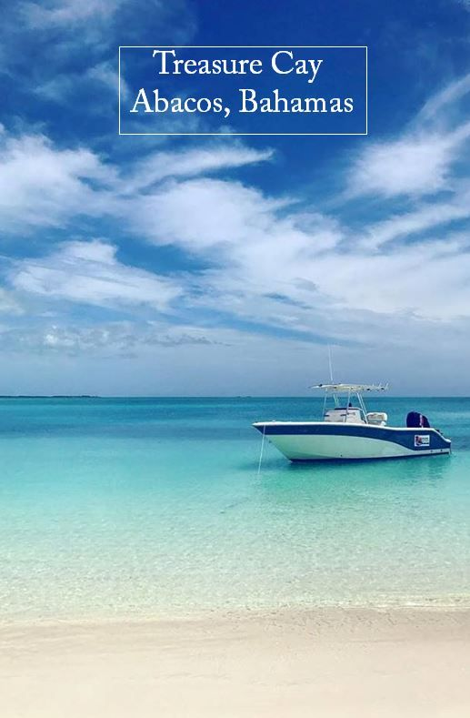The water and beaches really are this beautiful. Treasure Cay, Abaco Islands, Bahamas