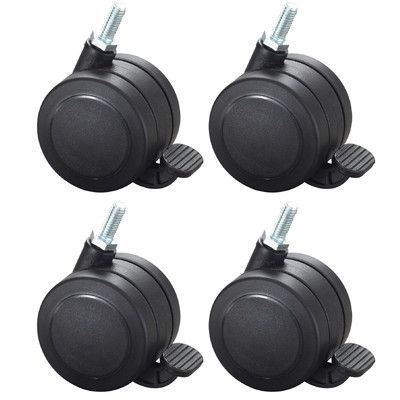 Safco Products AlphaBetter Hardwood Casters