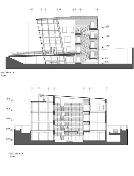 Architectural Drawings Of Buildings best 25+ building section ideas on pinterest | architectural