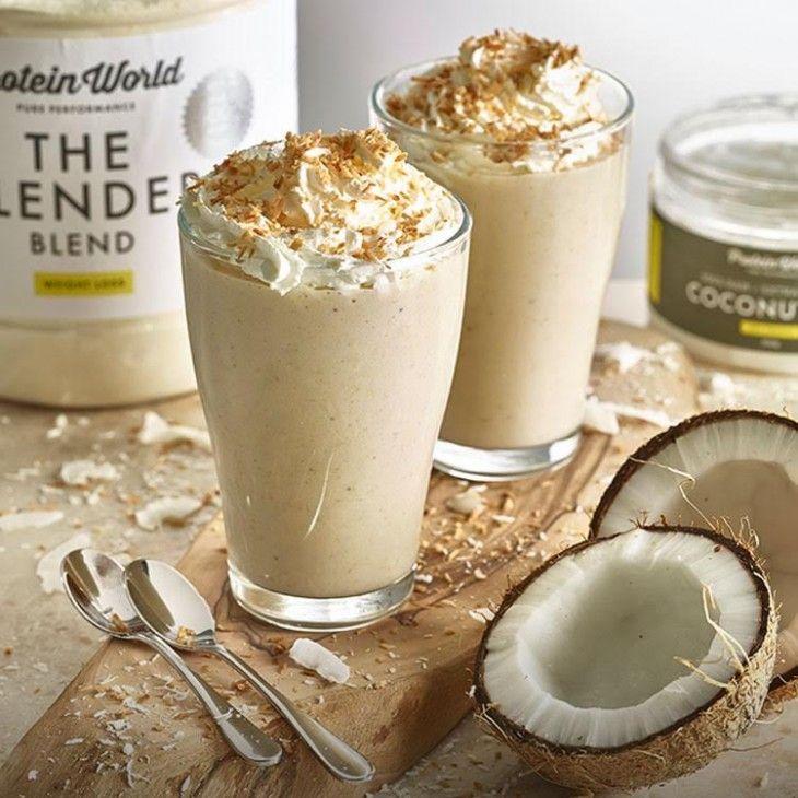 Slender Coconut Cream Smoothie