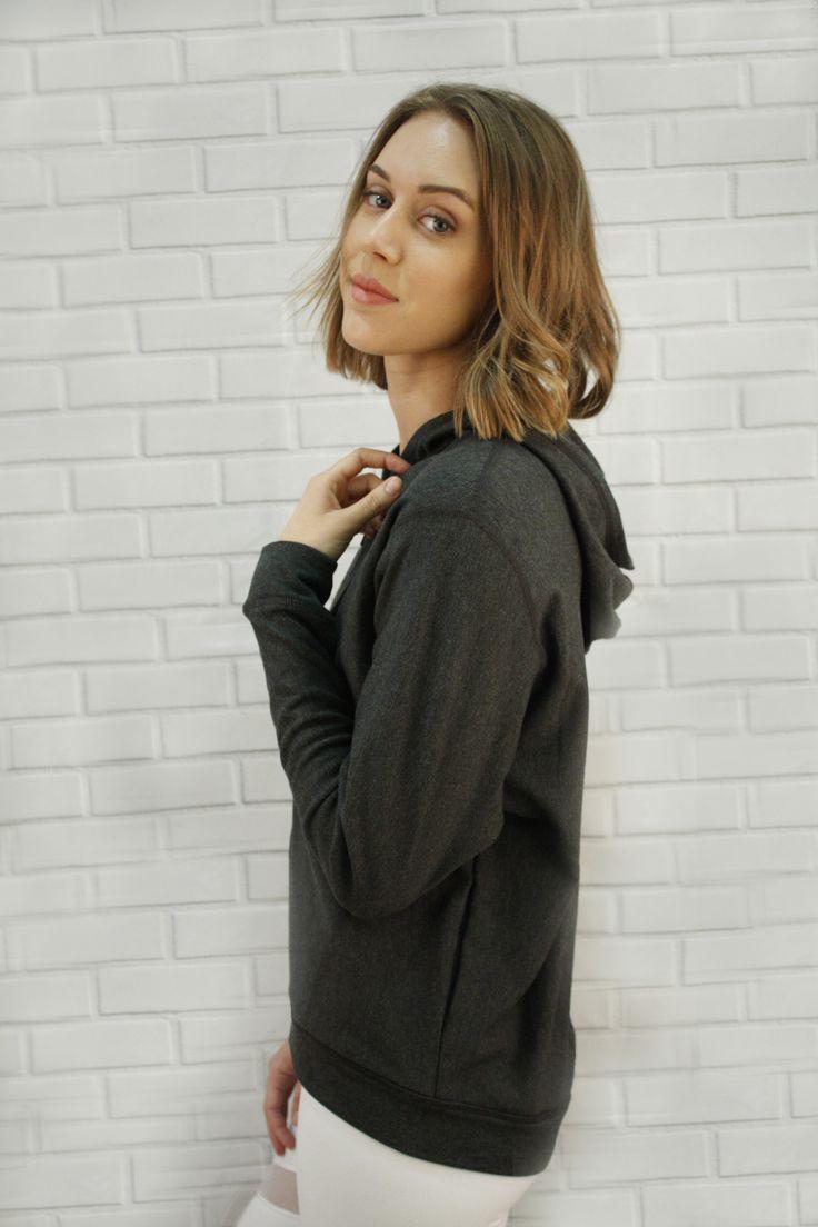 Delia Bamboo Fleece Jacket - batwing sleeves, warm cozy,
