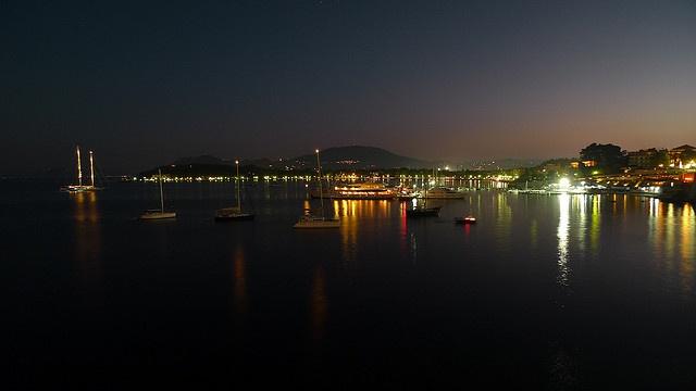 Corfu by Night   by James Trickey