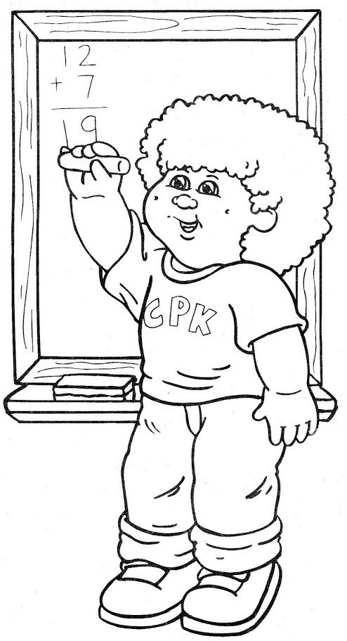 patchy patch coloring pages - photo#16