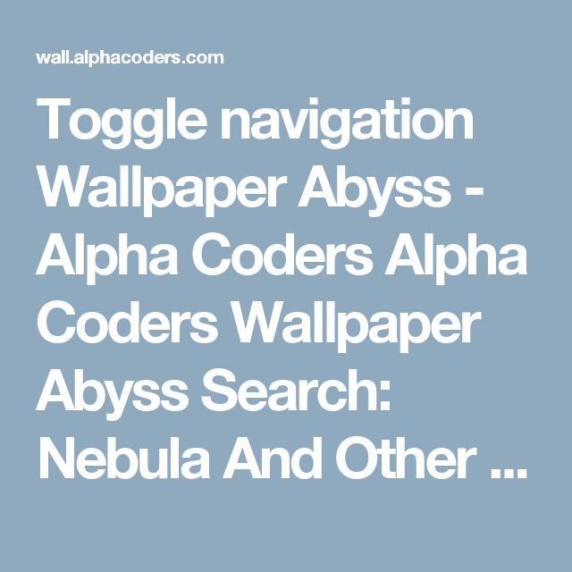 Toggle navigation Wallpaper Abyss - Alpha Coders   Alpha Coders  Wallpaper Abyss Search: Nebula And Other Space Objects Proudly Serving 6 Nebula And Other Space Objects Wallpapers Unfortunately we have no results that completely match your search terms, you see results that partially match your search.   Sorting Options (currently: Relevance)  Finding Wallpapers    2000x1500   Sci Fi   Space   6 Like   Favorite  	  wildflower1555 1360 Views   0 Favorites   0 Comments   1920x1079   Sci Fi  …