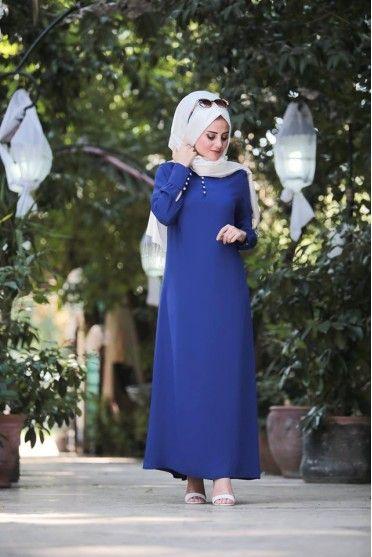 2017 Tesettür Elbise Tasarımları