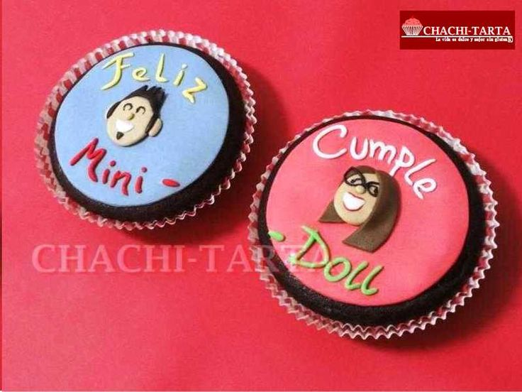 "Cupcakes para ""Mini-Doll"" (sin gluten)"