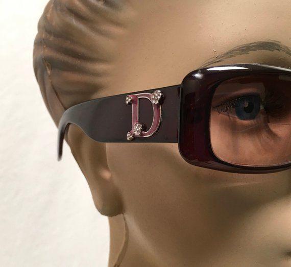 90c826a4b5 Christian Dior Couture Sunglasses Frame Designer Eyewear Optyl Eyeglasses  Purple Vintage Glasses