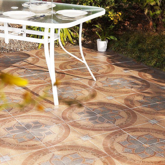 Atr vete a innovar en tus pisos utilizando cer micas con for Columpio de terraza homecenter