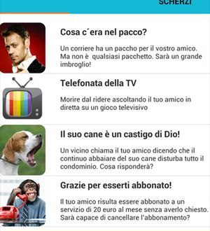 Scherzi telefonici divertentissimi con cellulare apk gratis