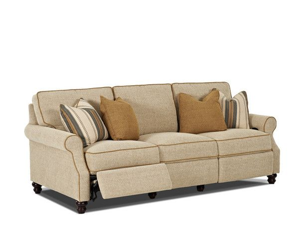 comfort never looked so good with the tifton reclining collection by klaussner
