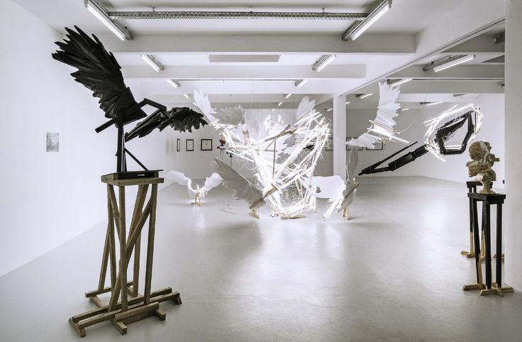 """""""Predicates"""" nennt der Südafrikaner Wim Botha seine Schau im Kunstraum Innsbruck. Foto: Christian Vorhofer"""