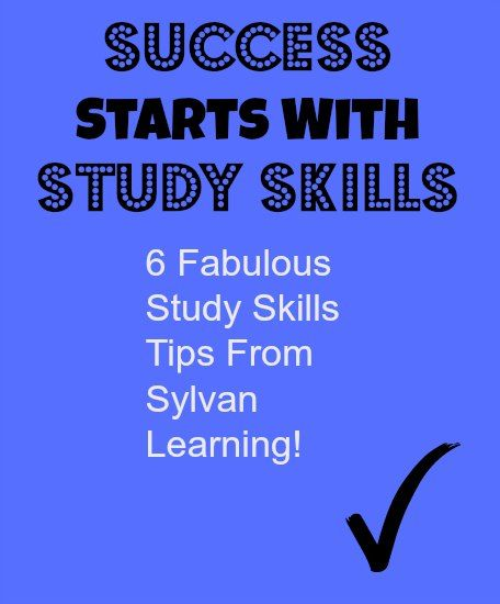 "Student Study Skills Tips For Creating Better Students- ""Success starts with Study Skills"" 6 great tips from @SylvanLearning #sponsored"