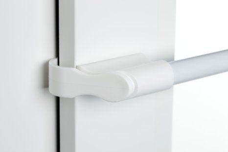 klemmstange wei 10 12mm 75 125cm f r fenster f r. Black Bedroom Furniture Sets. Home Design Ideas