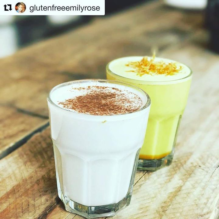 #Repost @glutenfreeemilyrose (@get_repost)  A dreamy catch up and planning session with @kirstyfuller88 over a turmeric & ginger latte and a chai & vanilla latte @nealsyardpride before a sweaty PIYO class @nuffield.health Covent Garden with @hope_natalie   Head to PIYO if you want some HIIT yoga and to sweat it out before the summer hols. A great class to get a whole body workout - I bet you'll feel amazing after   #fitlife #fitness #foodstagram #healthy #healthyliving #healthylifestyle…