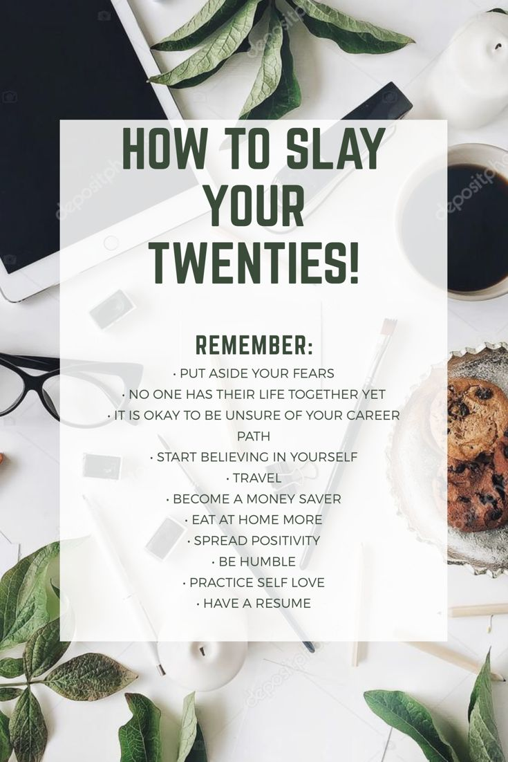 "How to Slay Your Twenties Your twenties are definitely difficult to venture through. I still find myself asking ""When will it get easier?"" or ""When will I finally feel successful?"" Well, success takes time my friend and it doesn't come easy. When you feel like throwing the towel in and just want to give up, remember …"