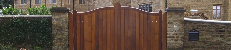 Wooden Gates - Wooden Electric Gate - Swing Gates - Automatic Gates - Remote Control Gate UK - AGD Systems