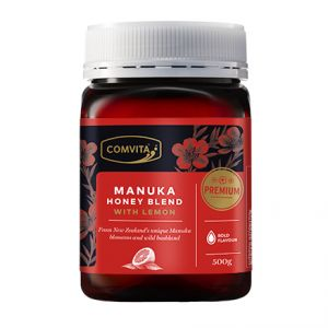 Miere de Manuka cu Lamaie Comvita. * mierea Manuka este unica, deoarece are non-peroxid, proprietati antibacteriene gasite doar in Mierea de Manuka, proprietati care pot sustine un sistem imunitar rezistent. Mierea poate fi comandata online de pe www.greenboutique.ro