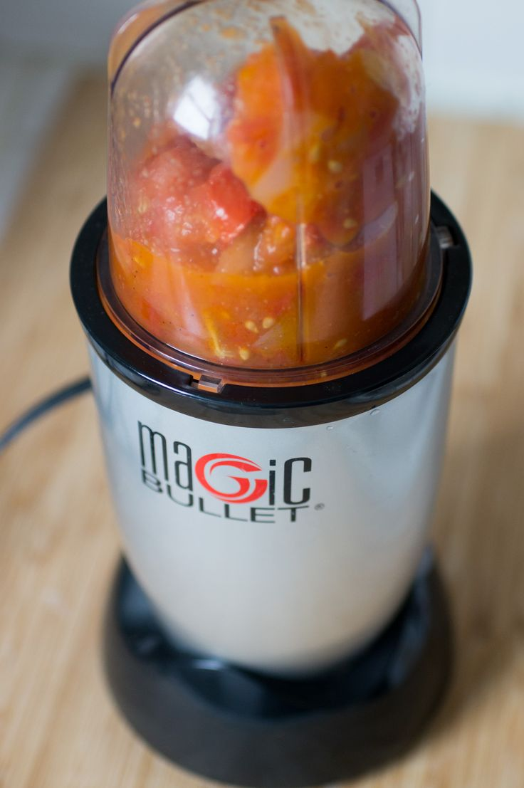 Magic bullet recipes - salsa, guacamole, spreads, dressings, and sauces