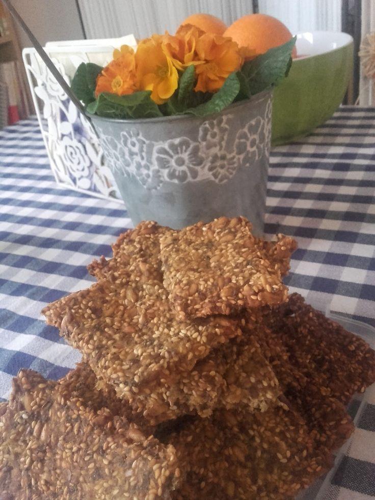 Sielskie Marzenia Sielskie Miejsce: Sezamki wieloziarniste :) bezglutenowe