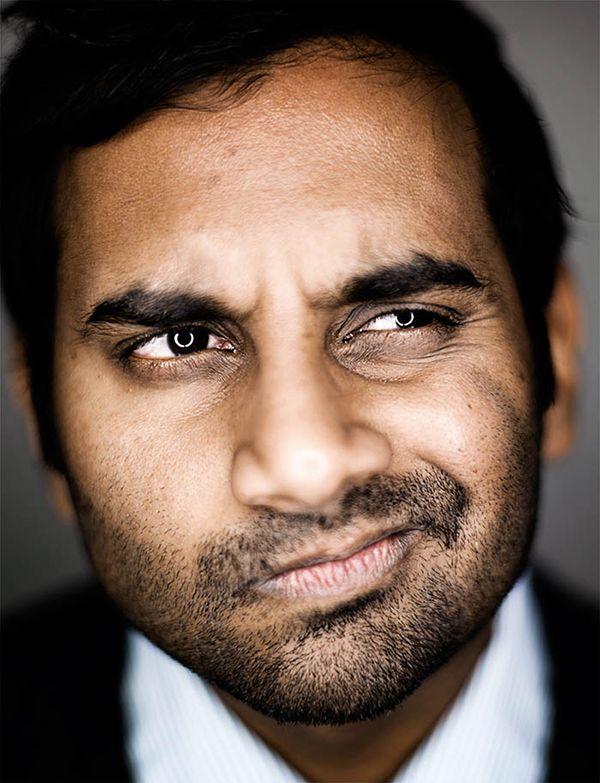 Esquire portrait | Aziz Ansari