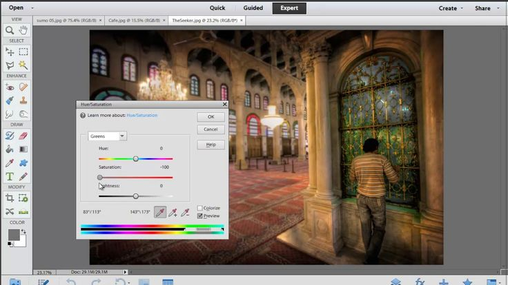 Photoshop Elements: All About the Tools