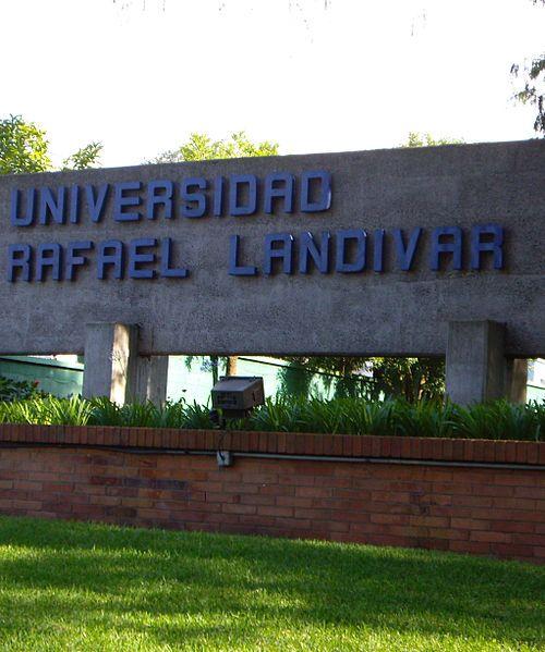 File:Entrada Principal Universidad Rafael Landivar.jpg