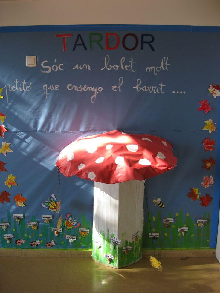 Escola El Far d'Empordà. Racó de tardor. Curs 2014-15.