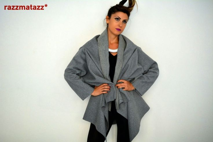 Wool Jacket Coat by Razzmatazz* http://www.razzmatazzshop.com/collections/outer-shells/products/401106
