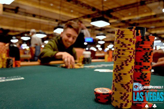La diretta live dei 4 italiani in gioco al day5 del main event World Series Of Poker