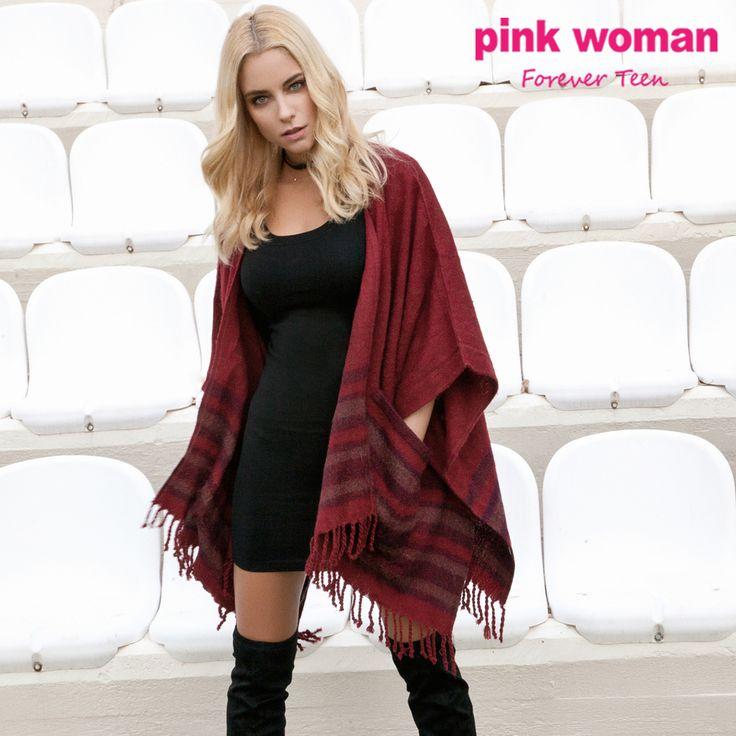 Απογείωσε το look σου με την πιο ωραία κάπα της σεζόν!!  Shop online at https://www.pinkwoman-fashion.com/