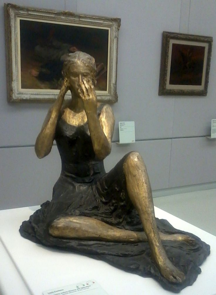 Lucio Fontana – Signorina seduta