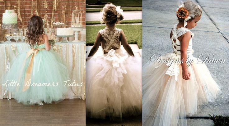Flower Girl Dress infinity convertible bridesmaid by VanelDesign, $117.00