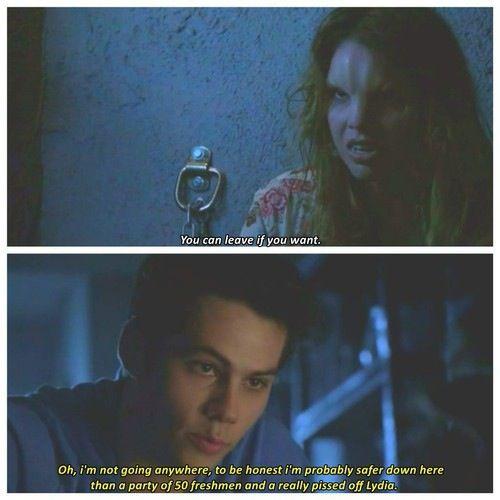 Teen Wolf - Malia and Stiles
