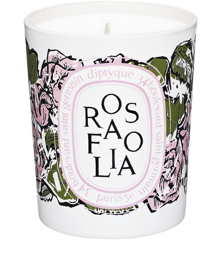 Diptyque Rosafolia Candle 190g | Beauty | Liberty.co.uk