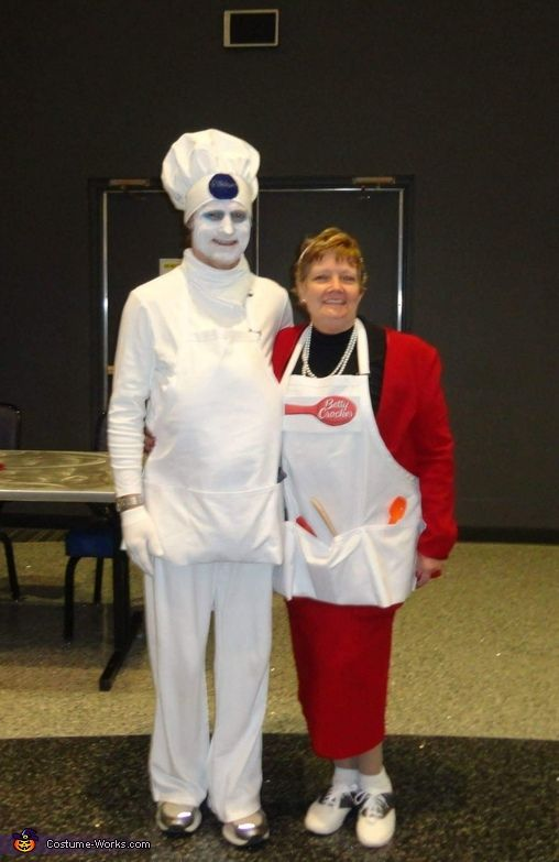 betty crocker and the pillsbury dough boy costume - Original Ideas For Halloween
