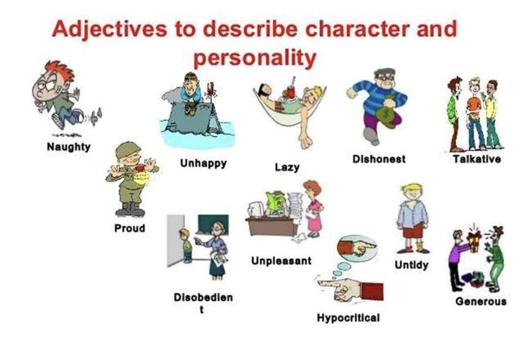 VocaBularY: Adjectives to describe character and personality!