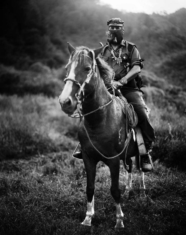 Subcomandante Marcos, spokesman for the Zapatista Army of National Liberation (EZLN), Chiapas, Mexico