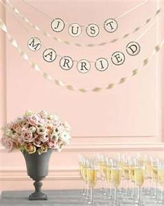 singage & setup   GARLANDS & BUNTING   Pinterest   Wedding and Weddings