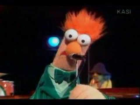 Muppet Beaker sings Yellow by Coldplay it's really funny and these are the lyrics to the song