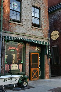 Arnold's - Cincinnati's oldest continuously operating saloon. Built in 1838