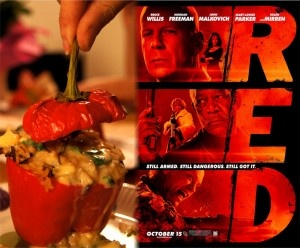 """Pepperampam"" food recipe for movie ""RED"""