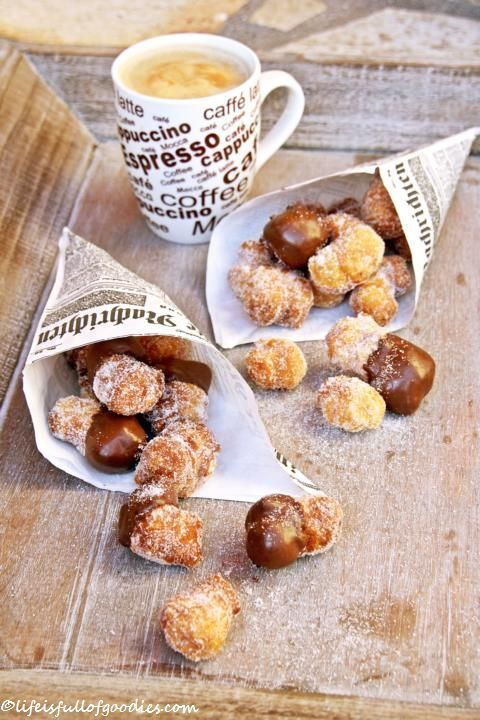 Cronut Bites - this is something that I wanna try making at home!