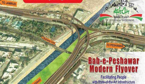 Bab-e-Peshawar Modern Flyover